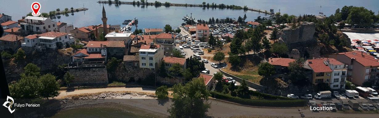 Fulya Pension Location